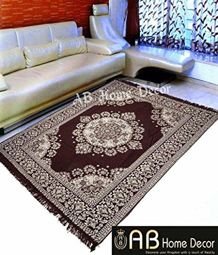 Ab Home Decor Velvet Touch Abstract chenille carpets for living room 5...