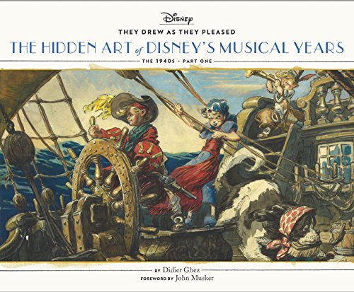 Hidden art of Disney golden age: the musical years par Didier Ghez