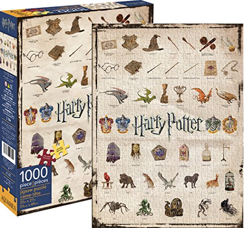 Aquarius Puzzle Iconos Harry Potter 1000 Piezas