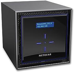 Netgear ReadyNAS RN424 High-performance Business Data Storage 4-Bay