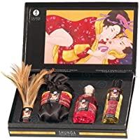 Shunga Kit Tenderness Gift, Color Negro - 537 gr