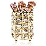 Rangement pour pinceaux de maquillage Tompig - Rond - Cristal - Organisateur de cosmétiques - Rouge à lèvres - Crayon à sourc