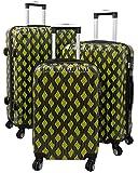 Warenhandel König , Set di valigie  Un colore Gelb M L XL