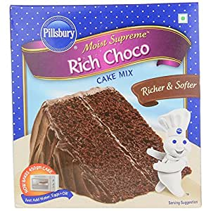 Pillsbury Rich Choco Oven Cake Mix, Celebration, 285g