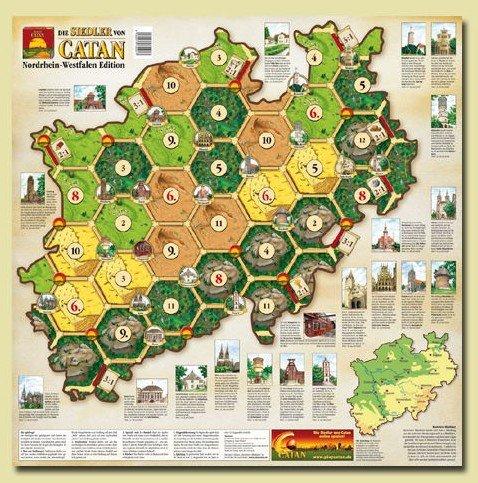 Die Siedler von Catan : Nordrhein-Westfalen Edition