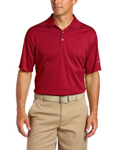 Nike Golf Herren UV Tech Polo Hose, Herren, 358324, rot/weiß (Team Crimson/White), Small - Tiger Woods Golf-hose