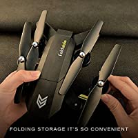 Cewaal Hanbaili S25 Mini Foldable Drone,Speed Adjustment Emergency Stop 360 Degrees Flips One-Touch Back,Drone Specially Designed for Beginners