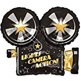 Lights, Camera, Action 81,3 cm Folienballon