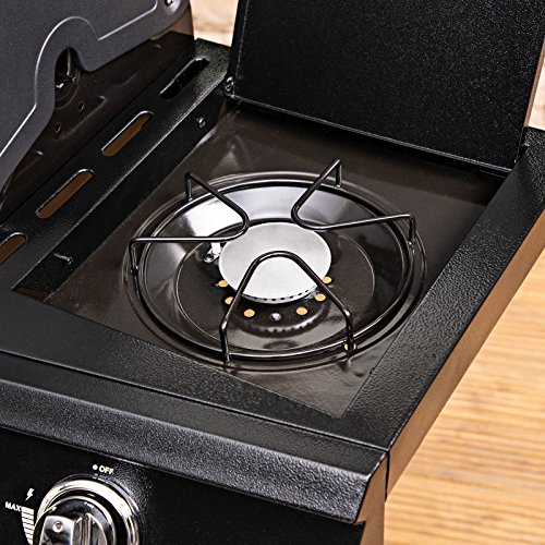 Fire Mountain Olympus Plus 4 Burner Gas Barbecue