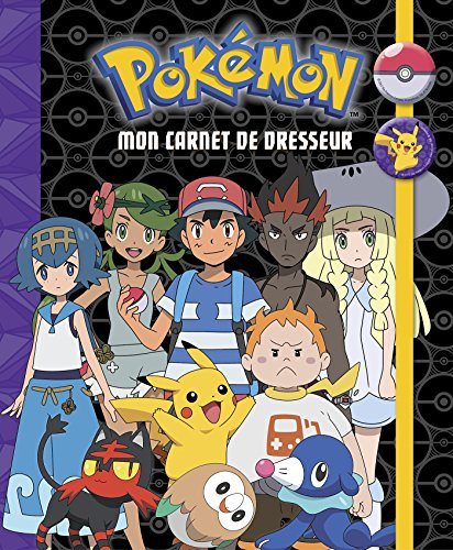 Mon carnet de dresseur Pokémon par Hachette Jeunesse