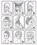 Rifuli Perrücke Hübsche Mädchen Clip auf Clip In Front Hair Bang Fransen Haarverlängerung Stück dünn Perücken Haarteile für Erwachsene