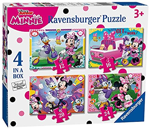 Ravensburger Disney Minnie Maus Happy Helfer 4in Box (12, 16, 20, 24-) Puzzle