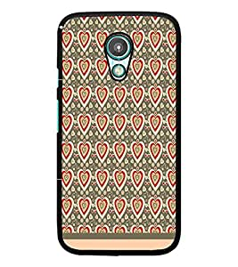PrintDhaba Heart Pattern D-1598 Back Case Cover for MEIZU M1 NOTE (Multi-Coloured)