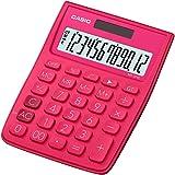 Casio MS-20VC-RD Desktop Calculator (Deep Pink)