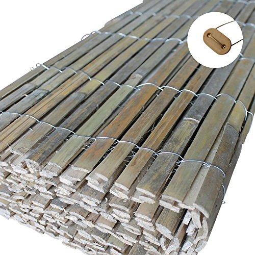 Bambus Sichtschutz Windschutz Bambus versandkostenfrei (D)