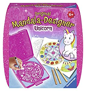 Ravensburger Original Mandala Designer 29704Mini Mandala Designer Unicorn, Manualidades & Pintura