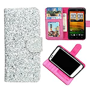 DooDa PU Leather Wallet Flip Case Cover With Card & ID Slots & Magnetic Closure For Motorola Moto G (2nd Gen)
