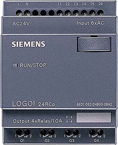 API - Module de commande Siemens 6ED1052-2HB00-0BA6 LOGO! 24RCo 24 V/AC 1 pc(s)