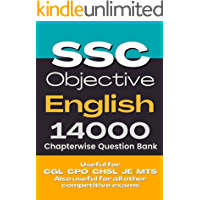 SSC English Previous Papers Chapterwise Question Bank [14000 MCQ] - Pocket Books