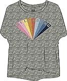 G.S.M. Europe - Billabong Damen Remind T-Shirt, Dk Ath Grey, L