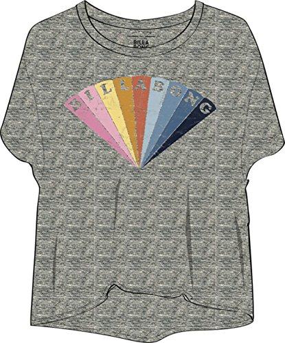 Billabong remind, T-shirt Femme Dk Ath Grey