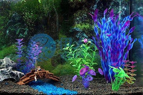 Wicemoon 9.5 * 7 * 5cm Aquarium Fish Tank Decoration Landscaping Aquarium Barrel Fish Turtle Cylinder Elusion Resin… 4