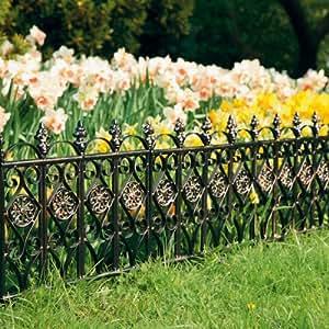 p tschke ambiente bergame bordure de parterre 3 pi ces jardin. Black Bedroom Furniture Sets. Home Design Ideas