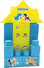 Warner Bros Doraemon Doll House Blocks, Multi Color