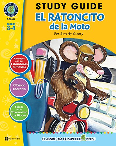 Guía de Estudio - El Ratoncito de la Moto (The Mouse and the Motorcycle Novel Study - Spanish Version) por Marie-Helen Goyetche