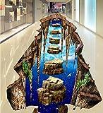 Wongxl Große 3D In Die Mall Flure Badezimmer Fliesen Bodenfliesen Selbstklebend Stereo Wasserdicht Nicht Rutschfeste Bodenbeläge Poster 350cmX300cm