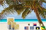 Karibik (Inkl Martinique, Puerto Rico, Saint Martin) 3GB Prepaid Daten SIM Karte für 30 Tage