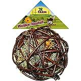 Jr Farm Pelota de madera de sauce con heno para roedores