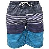 iPretty Homme Boardshorts Imprimé Shorts de Bain Surf Sport Séchage Rapide