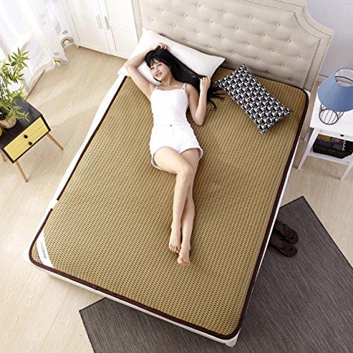 Yellow star Studentenwohnheim Futon-matratze Topper,Einzelne Tatami matratze Tragbare Schlafen Pad Anti-Rutsch bodenmatte Gesteppt faltbares Kissen matten-B 120x200cm(47x79inch)