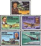 Zentralafrikanische Republik 501-505 (kompl.Ausg.) 1977 Geschichte der Luftfahrt (Briefmarken für Sammler)