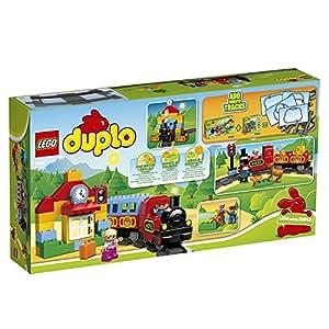 LEGO Duplo 10507 - Eisenbahn Starter Set, Zug Spielzeug
