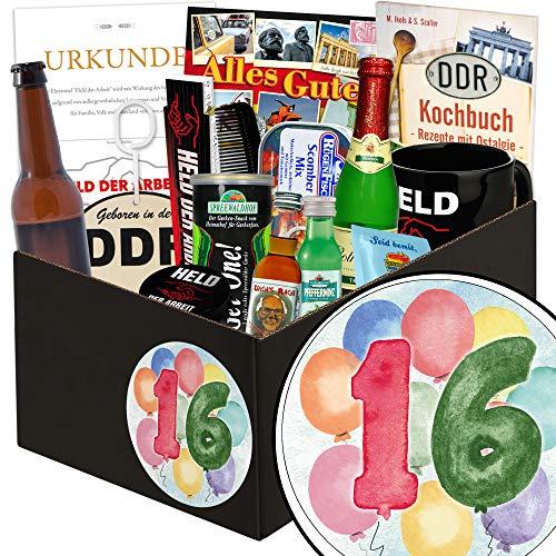 Geschenke 16 Hochzeitstag - Männerbox - 16. Hochzeitstagsgeschenk