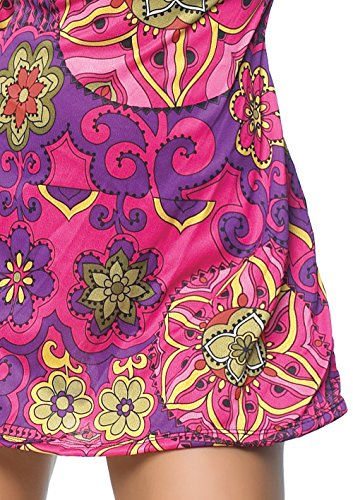 Leg Avenue 2-teiliges Hippie Mini Kleid - 3