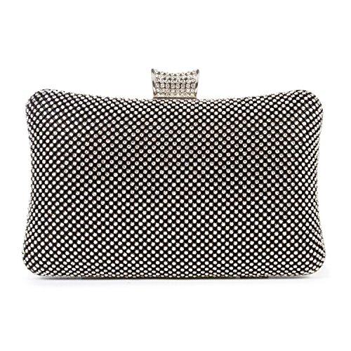 BAIGIO effetto Diamante, da matrimonio, con scritta: Evening Clutch Bag-Borsa per basso