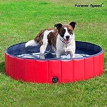 Forever Speed Piscina de Baño Ducha Plegable para Mascota Bañera Portátil para Perro/Gato Animales