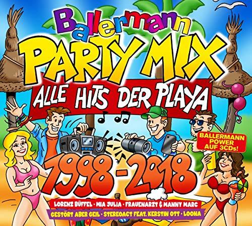 Ballermann Party Mix 1998-2018
