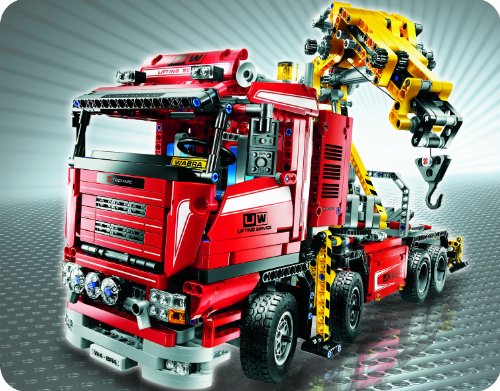 Imagen principal de LEGO Technic 8258 - Camión grúa motorizado [versión en inglés]