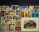 Goldhahn Österreich 1985 postfrisch ** Nr. 1799-1835 Block 7 - Briefmarken für Sammler
