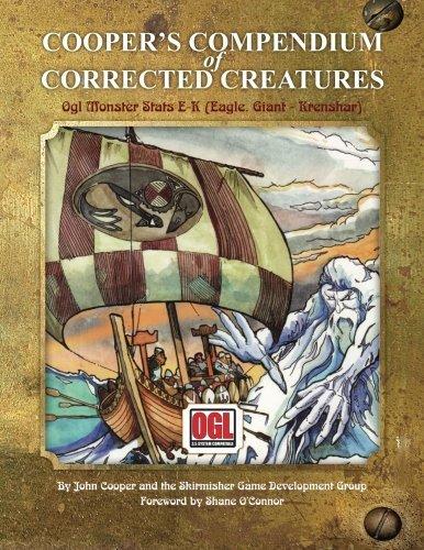 coopers-compendium-of-corrected-creatures-ogl-monster-stats-e-k-eagle-giant-krenshar-by-john-cooper-