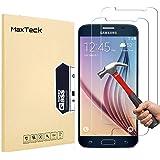 MaxTeck [3 Pièces] Verre Trempé Samsung Galaxy S6, Film Protection en Verre trempé écran Protecteur Vitre- Anti Rayures…