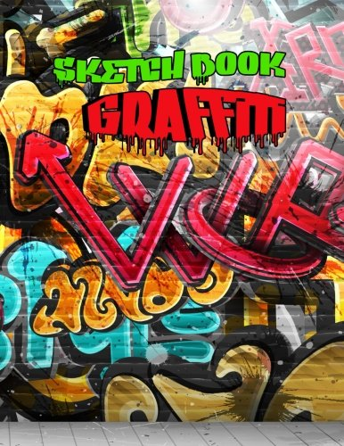sketch-book-graffiti-85-x-11-120-unlined-blank-pages-for-unguided-doodling-drawing-sketching-writing