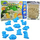 #4: Ekta Active Sand Dinosaur Play Set   Non-Toxic   Never Dries Out   for Kids 3+ Years/Birthday Gifting Item for Toddlers