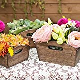 Wood Planter Boxes, Nesting Rustic Totes...