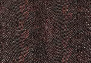 d-c-fix ® 346–en plastique (Film vinyle autocollant) Wildlife Serpent Boa rouge 45cm x 1,5m 340–0040