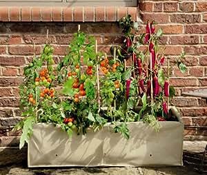 Gardman - Vaso per Orto e Verdure con struttura in metallo